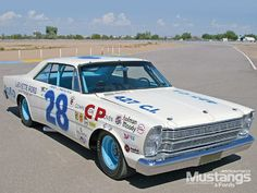 '65 & '66 Galaxie Grand National Stock Car - Modified Mustangs & Fords
