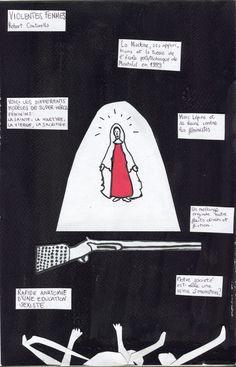 LA CHRONIQUE DESSINEE Violentes Femmes : mise en scène de Robert Cantarella, texte de Christophe Honoré, du 4 au 15 février au Théâtre des Amandiers, Nanterre / du 17 au 20 mars 2015 au CDN, Orléans.