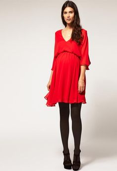 ASOS maternity dress.