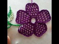 Hand Embroidery Design of Checkered Stitch - YouTube