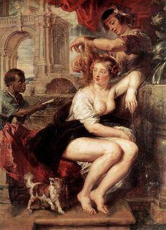 Rubens, Bathsheba at the Fountain, 1635 wikipedia.org