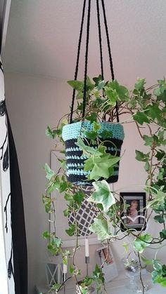 Virkattu Amppeli crochet muratti diy