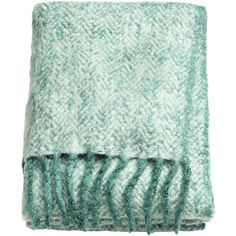 Herringbone Throw $49.99 ($50) ❤ liked on Polyvore featuring home, bed & bath, bedding, blankets, woven blankets, herringbone blanket, hunter green bedding, woven throw blanket and herringbone throw blanket
