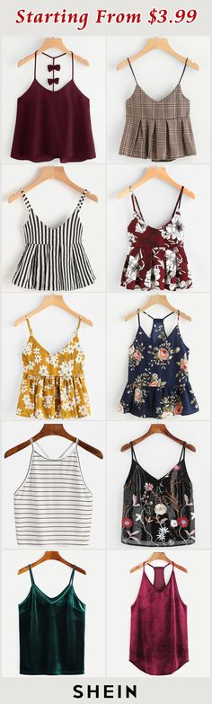 Starting from $3.99! Preppy Outfits For School, Basic Outfits, Cool Outfits, Summer Outfits, Tween Fashion, Fashion Outfits, Womens Fashion, Red Blouses, Blouses For Women