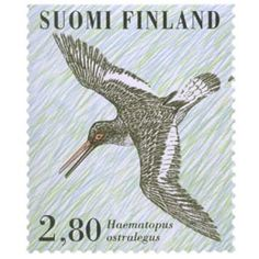 Finland, Stamps, Symbols, Letters, Birds, Seals, Icons, Letter, Postage Stamps