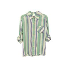 Vertical Stripes Slim Green Shirt (426.365 IDR) ❤ liked on Polyvore featuring tops, blouses, shirts, button ups, slim fit shirts, green button down shirt, long-sleeve shirt, cotton shirts and green shirt