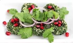 Recipe for Spinach Walnut Dip from @Jeanette | Jeanette's Healthy Living
