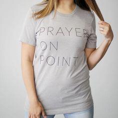 Prayer On Point T-Shirt