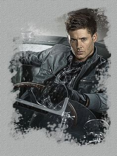 Dean -supernatural  diamond district by pompei77 on deviantART