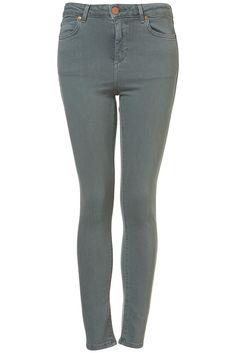 Topshop moto grey/blue Jamie jeans