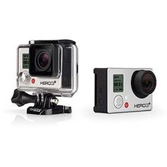 GoPro Hero3+ Silver Camera is definitely on my wish list this holiday season! Innovative #electronics products.