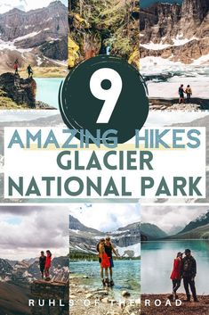 Use this Glacier National Park itinerary for the best Glacier National Park hiking guide. See Avalanche Lake Montana, Grinnell Glacier Trail, Lake McDonald Glacier National Park, Many Glacier Montana & West Glacier National Park. Glacier National Park Montana is filled with Montana lakes, wildlife & Montana mountains for amazing Montana hiking. Plus where to find free camping in Glacier National Park. Go on a hiking Glacier Montana trip with this list of the best hikes in Glacier National… Montana Lakes, Glacier Montana, West Glacier, National Park Passport, Us National Parks, Canada Travel, Travel Usa