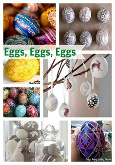 Eggs Eggs Eggs - It's time for Spring! - Up to Date Interiors