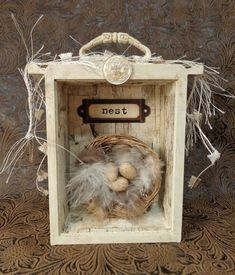 ~ The Feathered Nest ~: A tiny treasure ~