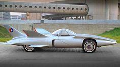 1958 GM Firebird III, Jetson style