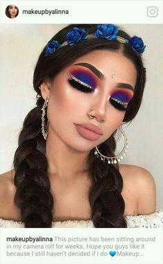 Exceptional Gorgeous makeup tips are available on our site. Glam Makeup, Cute Makeup, Pretty Makeup, Makeup Inspo, Eyeshadow Makeup, Makeup Art, Hair Makeup, Eyeshadows, Makeup Ideas