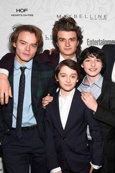 The Stranger Things Cast Parties It Up Before Their Big Night at the SAG Awards