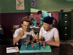 Leo Gorcey and Huntz Hall in CLIPPED WINGS from the Hollywood's young Hoodlums album 2 Leo Gorcey, The Bowery Boys, Old Movie Stars, Old Movies, Old Friends, Movie Tv, Hollywood, Album, East Side
