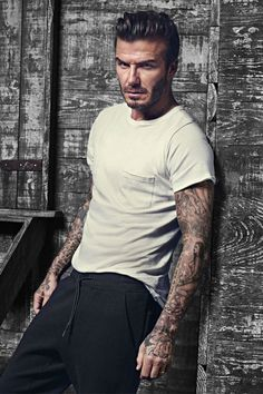 H & M Bodywear Model: David Beckham