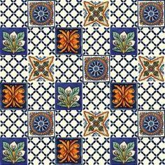 Płytki Meksykańskie - Galeria projektów Quilts, Quilt Sets, Log Cabin Quilts, Quilting, Quilt, Afghans