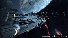 Es este vídeo la evidencia de armas secretas usadas en el Espacio contra Ovnis?