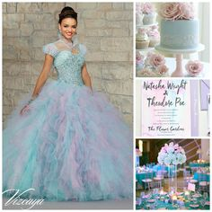 Blue, Purple and Pink theme Ideas   Quinceanera Ideas  