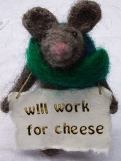 This is my second incarnation of 'Homeless Mouse' I had the idea quite a while back - as I was homeless myself when I was in my teens - so I...