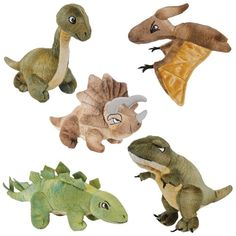 Dinosaur Finger Puppets (Set of 5) will get kids storytelling and creative!