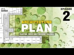 Architecture Plan in Photoshop Ep 2 Painting Trees and Finishing Touches - YouTube