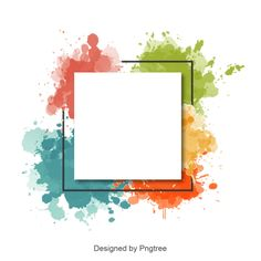 Abstract watercolor splash frame and border, Watercolor Border, Watercolor, Border PNG and Vector Watercolor Border, Watercolor Background, Abstract Watercolor, Watercolor Design, Splash Watercolor, Watercolor Flowers, Abstract Art, Poster Background Design, Powerpoint Background Design