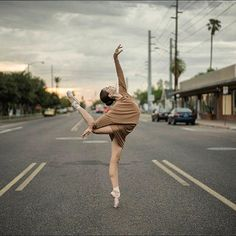 Ballerina Project shoots Juliet Doherty in the Norma Kamali All in One dress