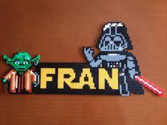 """Yoda y Darth Vader con nombre (from <a href=""""http://hama.piojillo.es/picture.php?/281/tags/5-star_wars"""">Las cosas de Hama de Ana y Santi</a>)"""