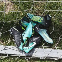 Nike has released one of the most stunning boot collections of the year this weekend. The new Nike Women Euro 2017 football boots collection brings new colorways to the Hypervenom, Magista, Mercurial and Tiempo. Nike Soccer Shoes, Nike Football Boots, Nike Cleats, Soccer Boots, Football Cleats, Football Gear, Football Stuff, Soccer Training Program, Soccer Coaching