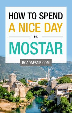 1 day in mostar: the perfect mostar itinerary japan travel guide, europe travel tips Europe Travel Tips, Travel Deals, Japan Travel, Travel Destinations, Travel Guides, Travel Couple, Family Travel, Bósnia E Herzegovina, The Beautiful Country