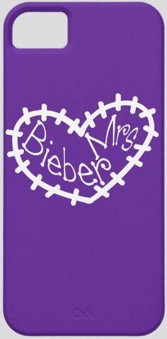 Mrs Bieber iPhone 5 case - Justin Bieber belieber #junkydotcom http://www.zazzle.com/mrs_bieber_iphone_5_case-179738672413458833?rf=238087280021604351