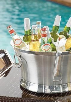 Great outdoor entertaining accessories!