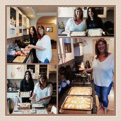 Student Giulia with her host Mother. South Devon, Exeter, Apple Pie, Families, Student, Baking, Bakken, My Family, Backen