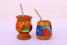 Arts And Crafts, Diy Crafts, Desiderata, Posca, Pottery Designs, Painted Pots, Clay, Pattern, Gifts
