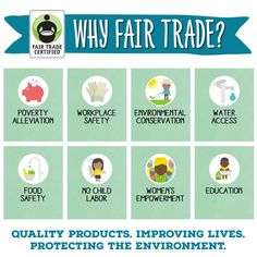 Have you heard about the 8 ways Fair Trade improves lives around the world?Share this graphic to tell your friends why every purchase matters!