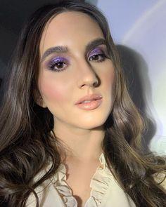 "Denisa Stanciu • M U A • on Instagram: ""I'm having a purple moment 😬 what do you think? 💜 @danessamyricks.ro Vision Cream Cover #foundation @bassamfattouh #thestarpalette…"" Colorful Makeup, Bridal Makeup, Thinking Of You, Eyeliner, Foundation, In This Moment, Cream, Stars, Purple"