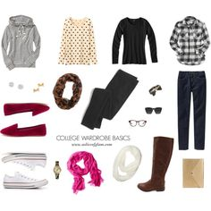 College Wardrobe Basics