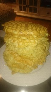 Made by mancerqueen for Sola on Jan 30 Waffles, Mountain, Pie, Cheese, Desserts, Food, Torte, Tailgate Desserts, Cake