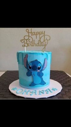 Cake with carrot and ricotta - Clean Eating Snacks Lilo And Stitch Cake, Lelo And Stitch, Lilo Y Stitch, Cute Stitch, Disney Desserts, Disney Cakes, Cute Desserts, Disney Food, Pretty Birthday Cakes