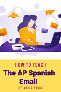 Would you like your high school AP Spanish students to master the correo electrónico section of the AP Spanish Language and Culture exam? Here are 11 simple, step-by-step tips to help you teach the email reply. I have also included a FREE vocabulary list and other links to help students respond in a proficient manner. Students learn the requirements of the email response, how to use the formal register and more. Click on the link to read the post. Ap Spanish, Vocabulary List, Spanish Language, Student Learning, Lesson Plans, Curriculum, High School, Students, Culture