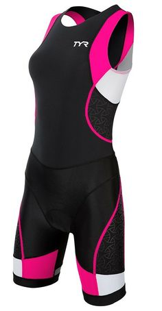 TYR Women's Competitor Trisuit with Back Zipper - 2014 - in green