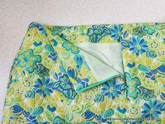 Dos formas de coser cremallera invisible