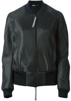Y-3 boxy bomber jacket on shopstyle.com