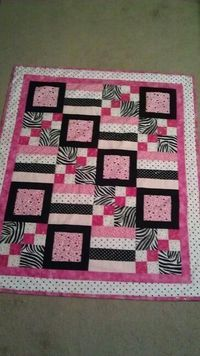 Quilt with definition - squares, blocks, stripes, and borders