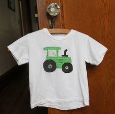 TUTORIAL: A Tractor Shirt (FREE PATTERN)