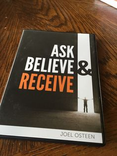 Ask Believe And Receive Cd/Dvd Set By Joel Osteen